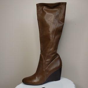 Franco Sarto wedge heeled boots size 8 1/2